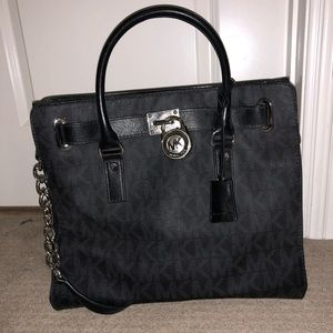 Michael Kors black large handbag